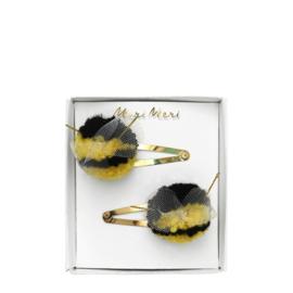 Haarspeldjes: Meri Meri Bumblebee pompom
