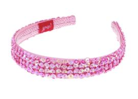 Diadeem: Souza Desiree licht roze