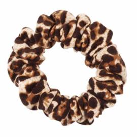 Haarelastiekjes:  luipaard scrunch (Small)