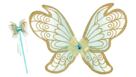 Souza vleugels met staf Jeanne