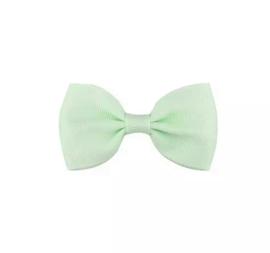 Haarspeldjes: Mint groene strik