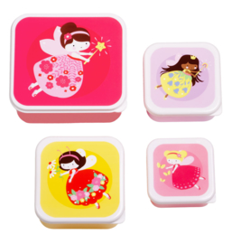 A Little Lovely Company: Lunch & snack box set: Feetje