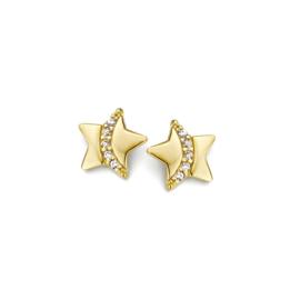 Gouden kinderoorbellen: Sterretjes ( Naiomy Princess)