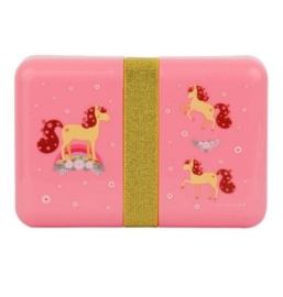 A Little Lovely Company: Lunch box Paard (met stickers)