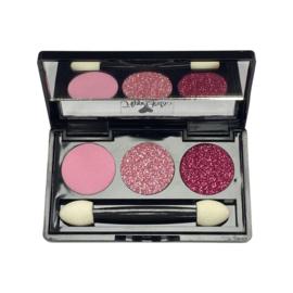 Luxe Oogschaduw Perfect Pink! (met spiegeltje)
