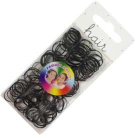 Zwarte elastiekjes