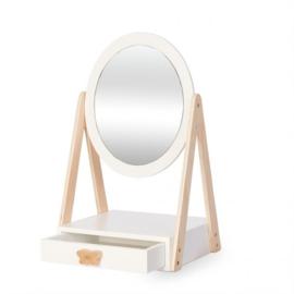 Byastrup houten make-up spiegel met lade in luxe geschenkverpakking