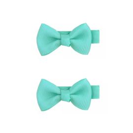 Haarspeldjes: turquoise  (2stk)