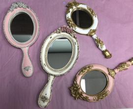 Vintage spiegel Exclusive white
