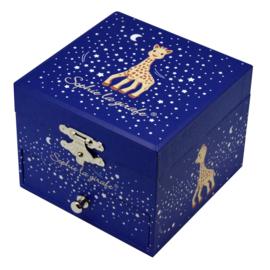 Sieradendoosje Sophie de giraf Stars (glow in the dark)