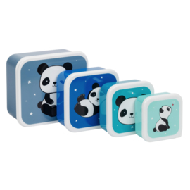 A Little Lovely Company: Lunch & snack box set: Panda