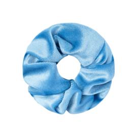 Scrunchie Velvet Blauw