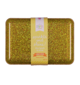 A Little Lovely Company: Lunch box goud glitter