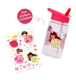 A Little Loveley Company: Drinkfles feetje (met stickers)