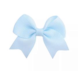 Haarspeldjes: blauwe strik