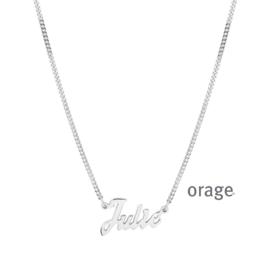 Ketting met naam ORAGE