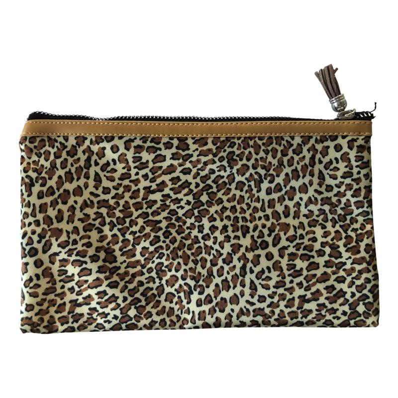 Make-up tasje luipaard