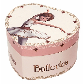 Sieradendoosje Ballerina (glow in the dark)