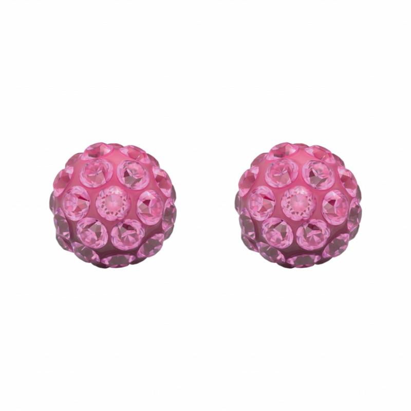 Tiny Tips kinderoorbellen: Roze knopjes