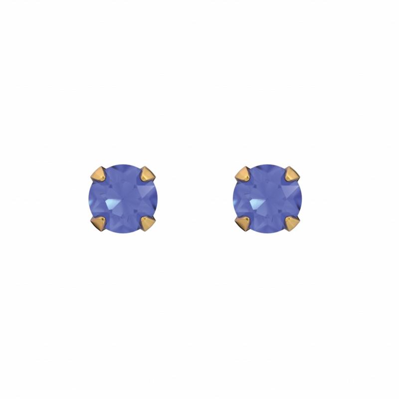Tiny Tips kinderoorbellen: Blauwe knopjes