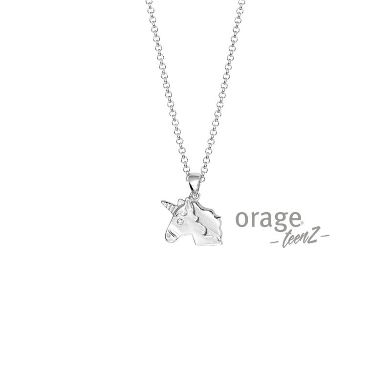 Ketting met eenhoorn (ORAGE)