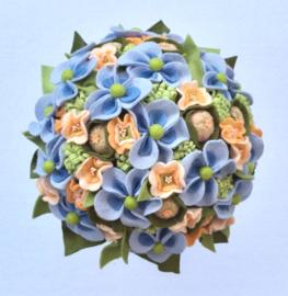 Bruidsboeket Something blue