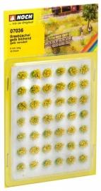Noch 07036  # Bloeiende graspollen geel, 42 stuks
