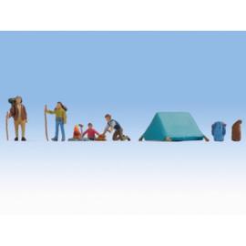 NOCH 15876 : Op de camping (H0)