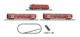 Fleischmann 931897#z21 startset met diesel locomotief BR 245 en passagiertrein
