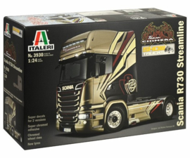 "ITALERI 3930 : Scania R730 Streamline ""Team Chimera"""