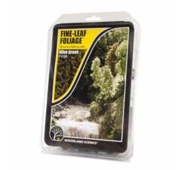 Woodland F1133 # Fine Leaf Foliage (olijfgroen)