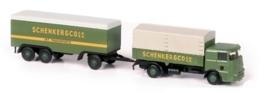 Lemke LC 3609 : Vrachtwagen met aanhanger