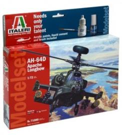 Italeri  71080 # Apache Longbow AH-64