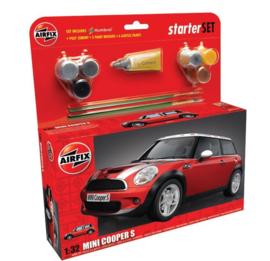 Airfix A501125 : MINI Cooper S Gift Set