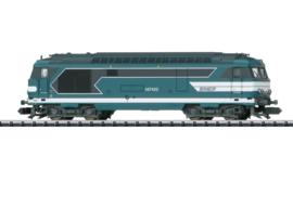 Minitrix 16705.  Diesel locomotief BB 67400 SNCF