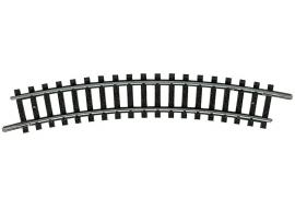 Minitrix 14924 : Gebogen rail  (R 2 - 24°)