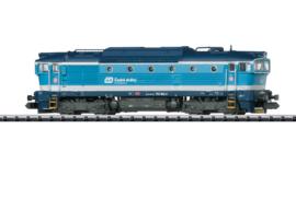 Minitrix 16738. Diesel locomotief BR 754 Van de Tjechische spoorwegen