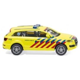 Wiking 007117 : Audi Q7 (Nederlandse Ambulance)