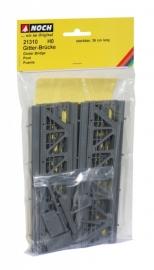 Noch  21310 # Vakwerkbrug (kunststof)
