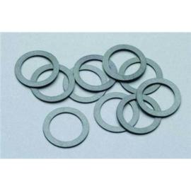 pIKO 56027, antie slipbandjes 8,4 mm set van 10 stuks