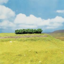 Faller 181356 : 4 premium heggen, groen