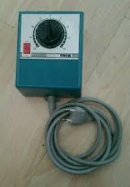Trix Express 5501. Trafo/rijregelaar