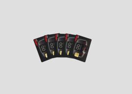 60135. Set lockaarten (5 stuks)