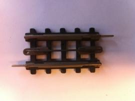Trix Express (4)703. Rechte rail 1/4  49mm.