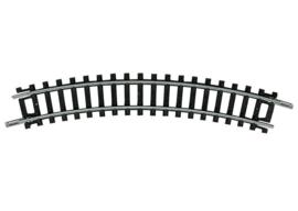 Minitrix 14912. Gebogen rail 30gr.