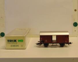 Trix 23834 : Gesloten goederenwagen  (DB)