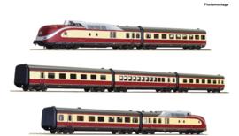 71934-7-delige set: Diesel met meerdere eenheden klasse 601, DB