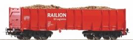 Piko 54701 Hoge boordwagen  Railion (DB  AG)