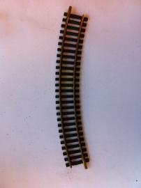 Fleischmann 6025. Gebogen rail 30gr. R1=357mm.