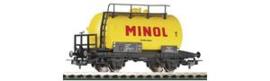 "Piko 57713. 2 assige ketelwagon ""MINOL"" DR. Ep IV"